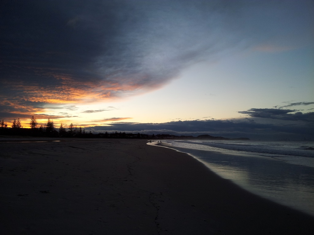 Gold Coast, Queensland, Australia - Coolangata Beach