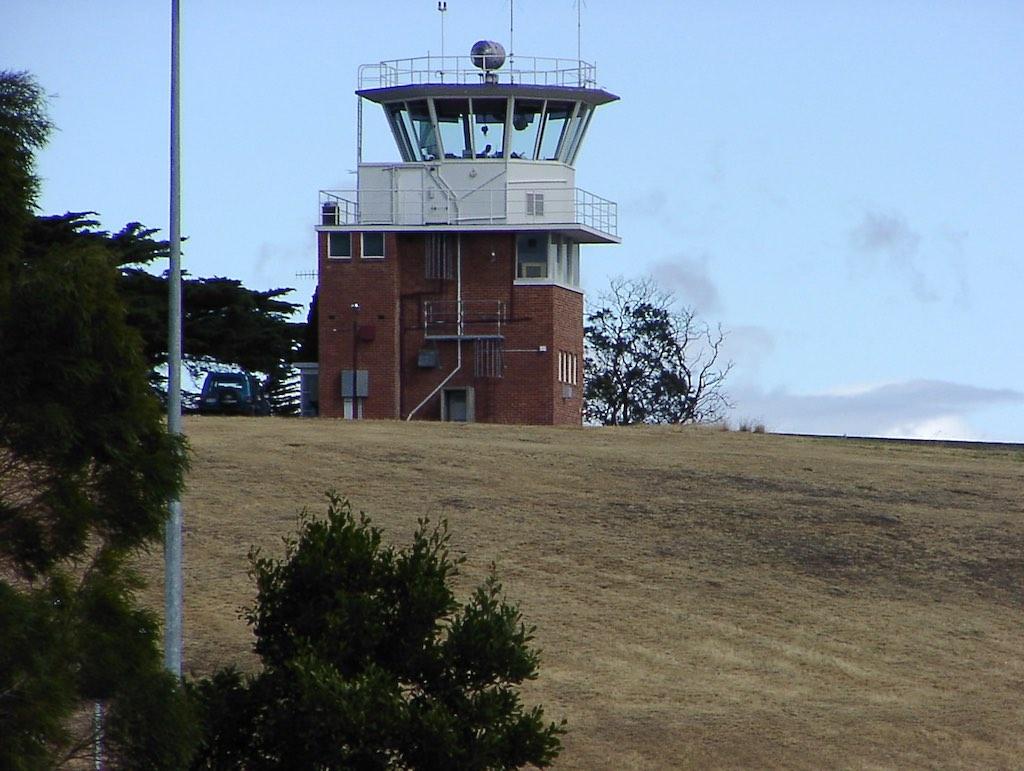 Hobart, Tasmania, Australia - Airport Control Tower (HBA)