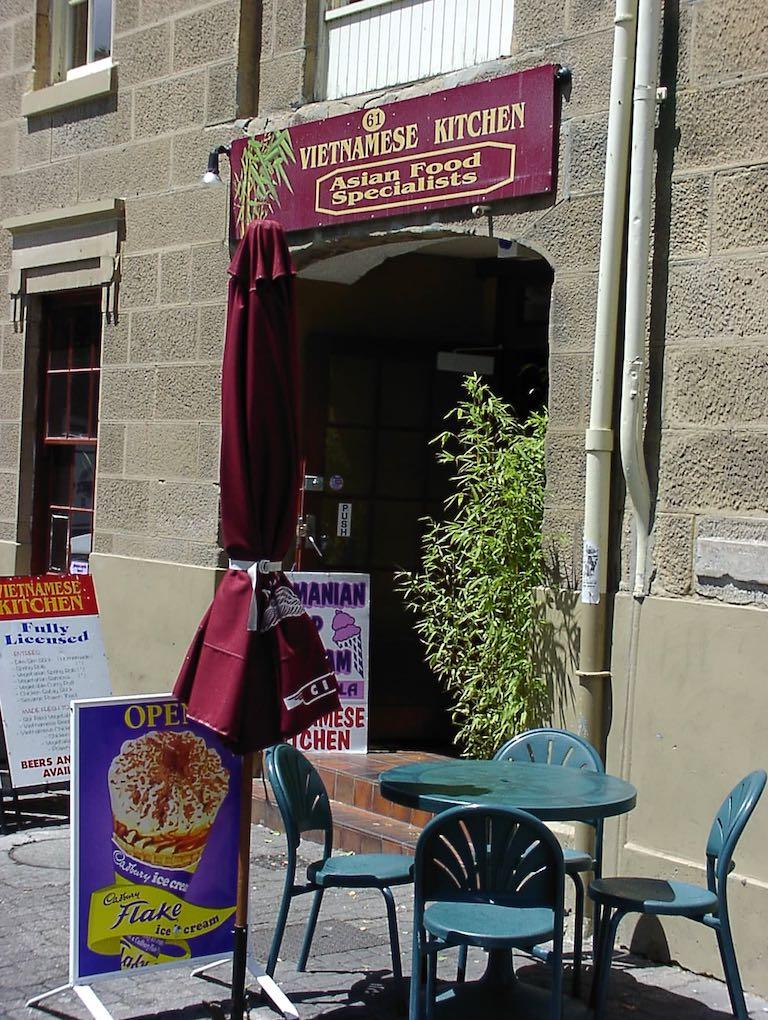 Hobart, Tasmania, Australia - Vietnamese Kitchen Restaurant