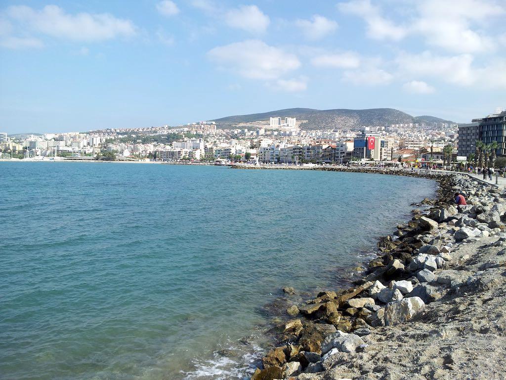 Kusadasi, Turkey - Kusadasi coast