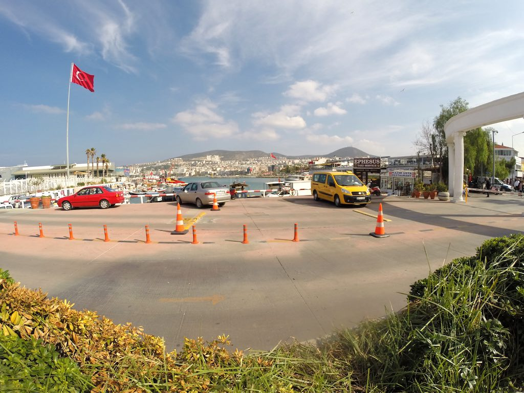 Kusadasi, Turkey - Kusadasi from the port
