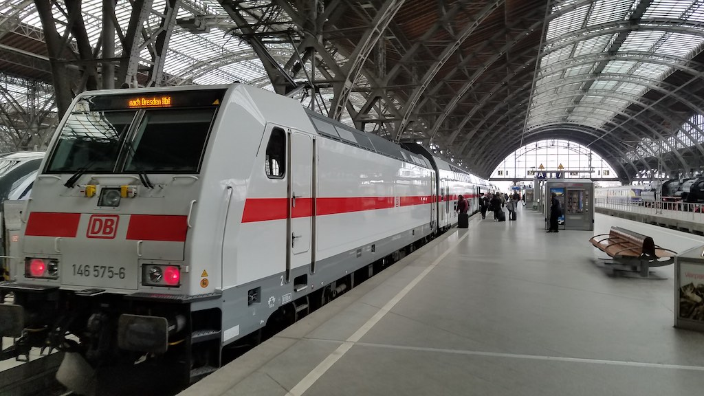 Leipzig, Germany - Leipzig Train Station