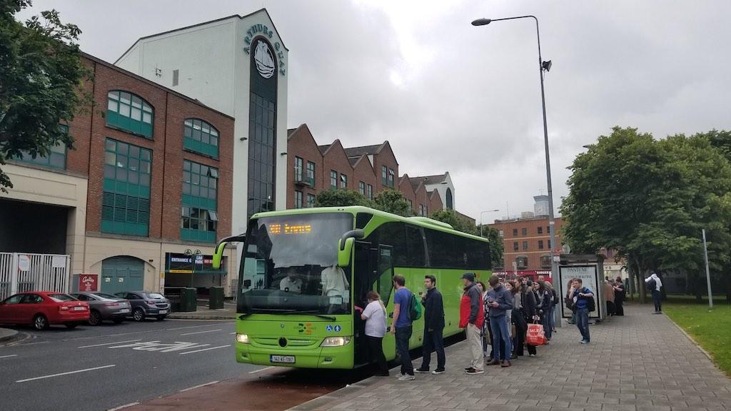 Limerick City, Ireland - Dublin Coach