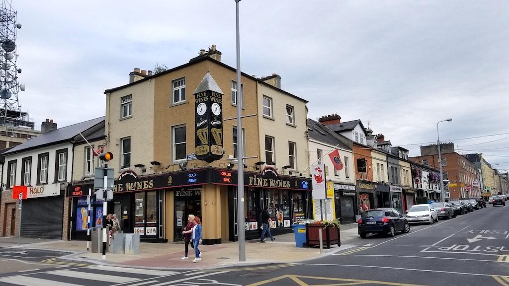 Limerick City, Ireland - Fine Wines Liquor Store