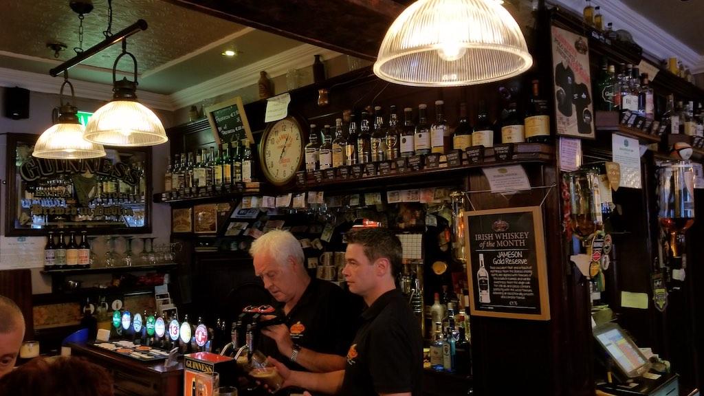 Limerick City, Ireland - Inside Flannery's Pub