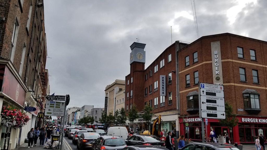 Limerick City, Ireland - Main Street