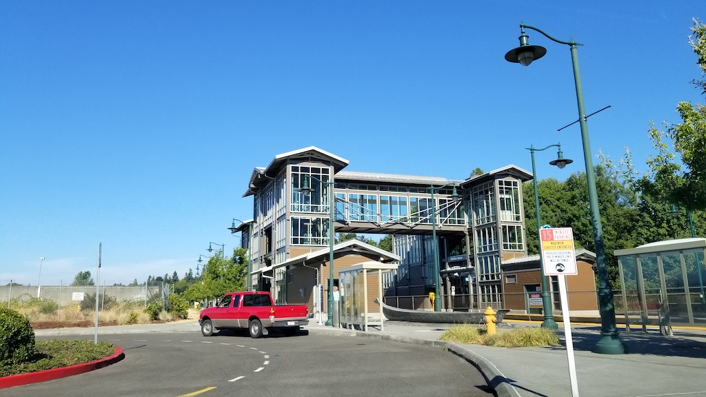 Mukilteo, Washington USA - Train Station