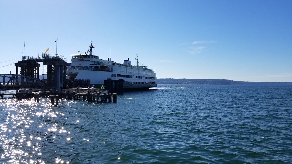 Mukilteo, Washington USA - Mukilteo, Washington USA ferry