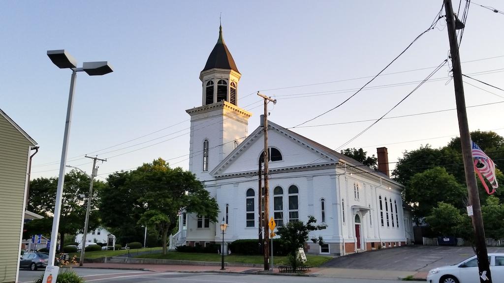 Pawtuxet Village, Rhode Island USA - Church