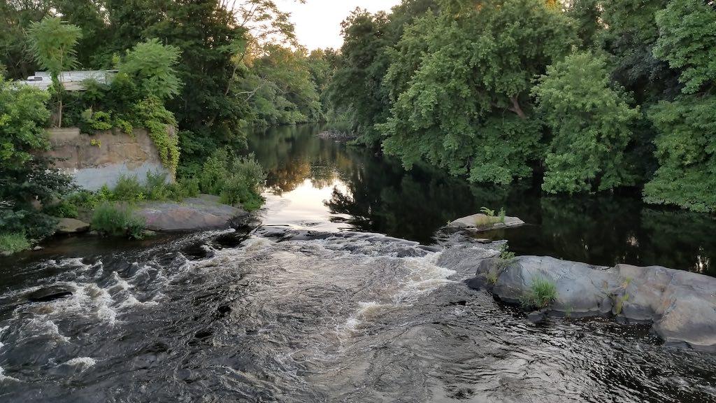 Pawtuxet Village, Rhode Island USA - Pawtuxet River