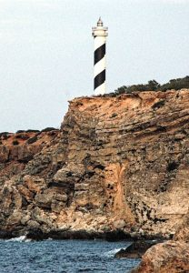 Portinatx, Ibiza, Spain - Lighthouse