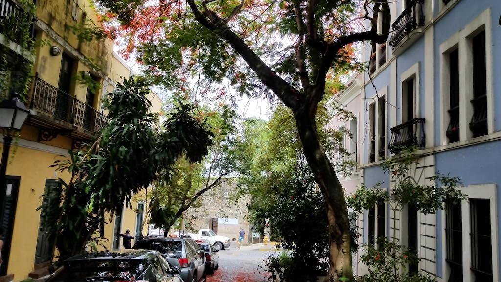 Puerta de San Juan, Old San Juan, Puerto Rico - Puerta de San Juan Street