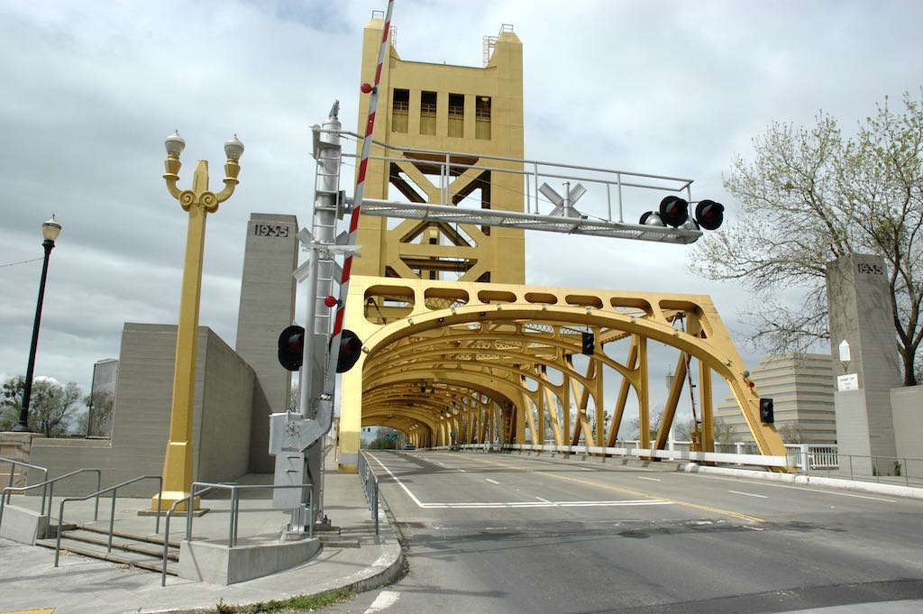 Sacramento, California USA - Tower Bridge