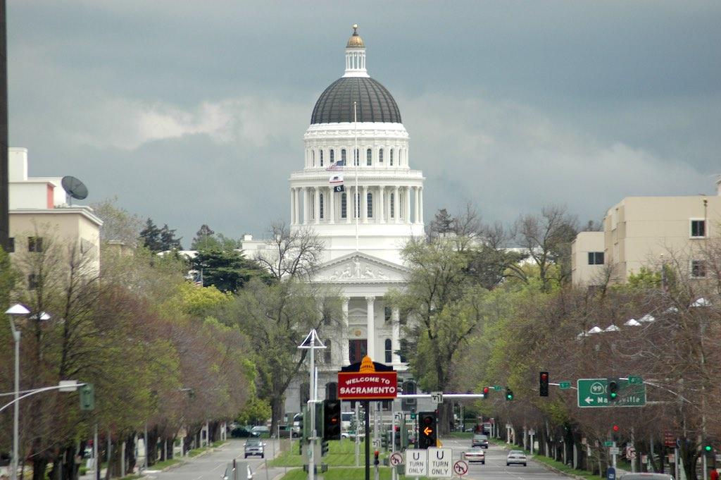 Sacramento, California USA - State Capitol