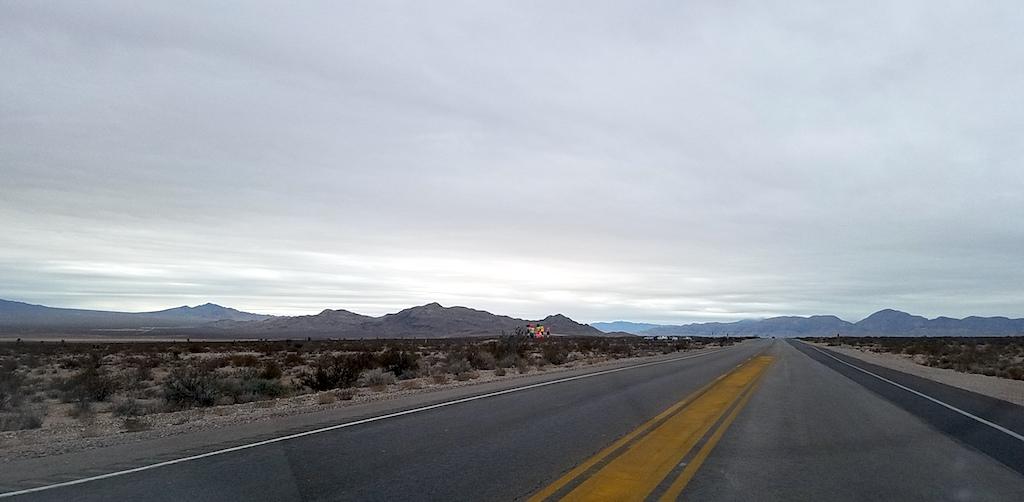 Seven Magic Mountains, South Las Vegas, Nevada USA