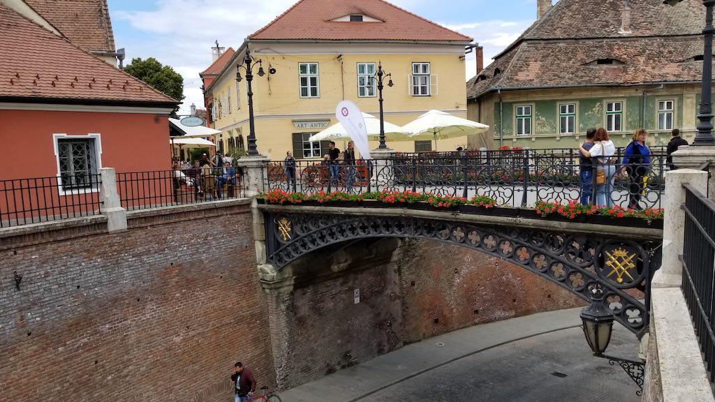 Sibiu, Romania - Lier's Bridge