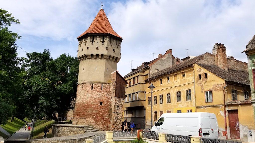 Sibiu, Romania - Medieval Wall