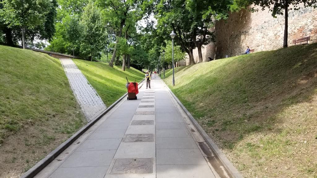 Sibiu, Romania - Walk of Fame