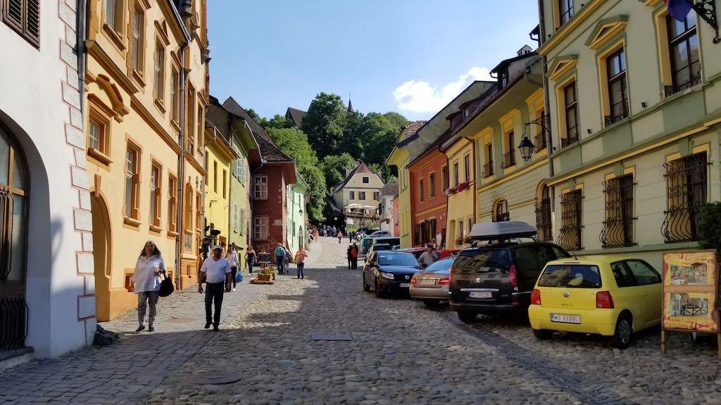Sighișoara, Romania - Street