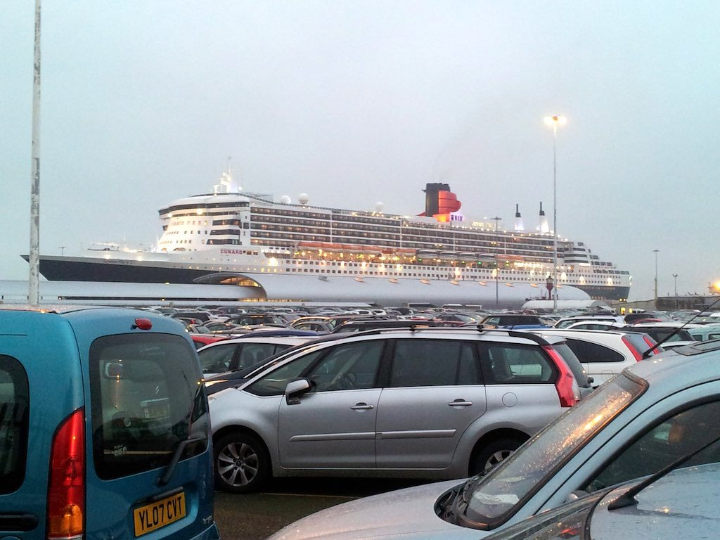 Southampton, United Kingdom - Cunard Queen Mary 2
