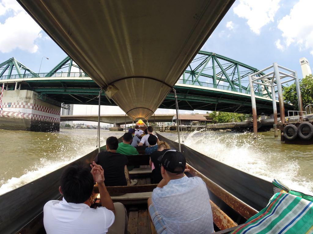 Thon Buri, Bangkok, Thailand - onboard longtail boat