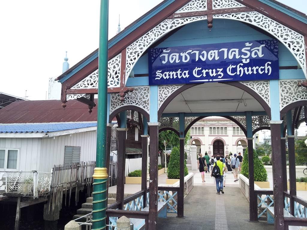 Thon Buri, Bangkok, Thailand - Santa Cruz Church River Stop
