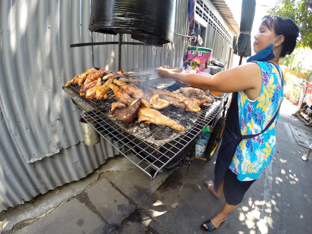 Thon Buri, Bangkok, Thailand - Street Food Chicken