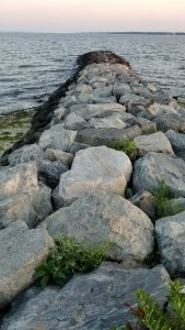 Warwick, Rhode Island - Rock Jutting