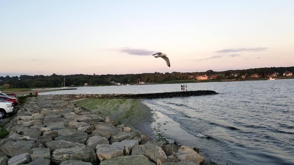 Warwick, Rhode Island USA - Oakland Beach