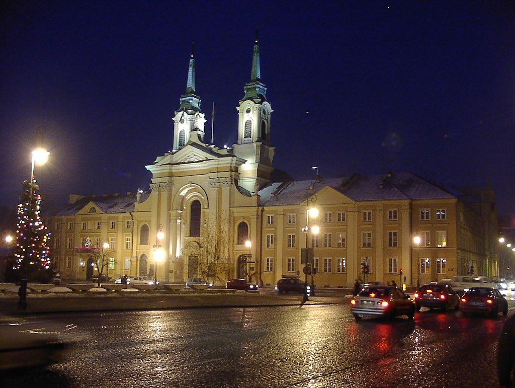 Warsaw, Poland - Church of St. Mary the Queen of Poland