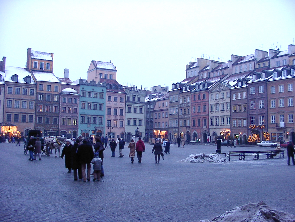 Warsaw, Poland - Old Town Square