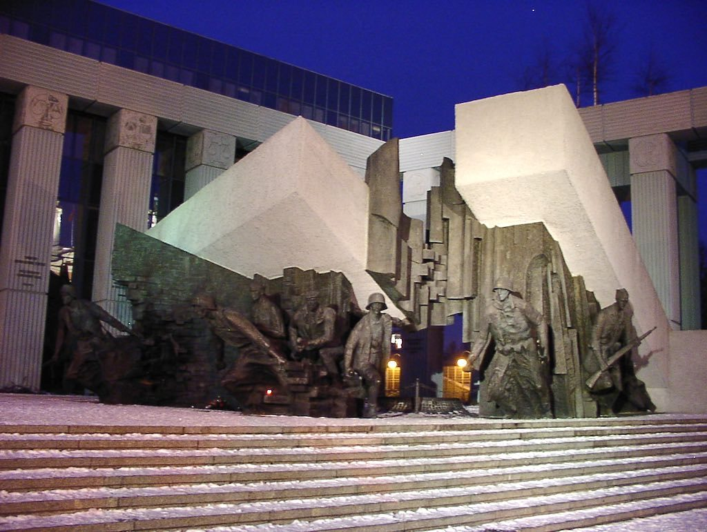 Warsaw, Poland - The Warsaw Uprising Monument