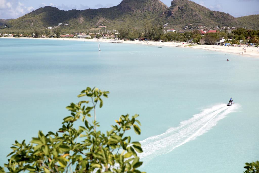 North Beach Barbuda Antilles