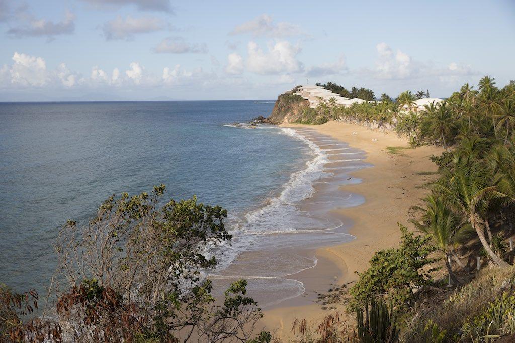 St. John's, Antigua and Barbuda - Brown sand Beach