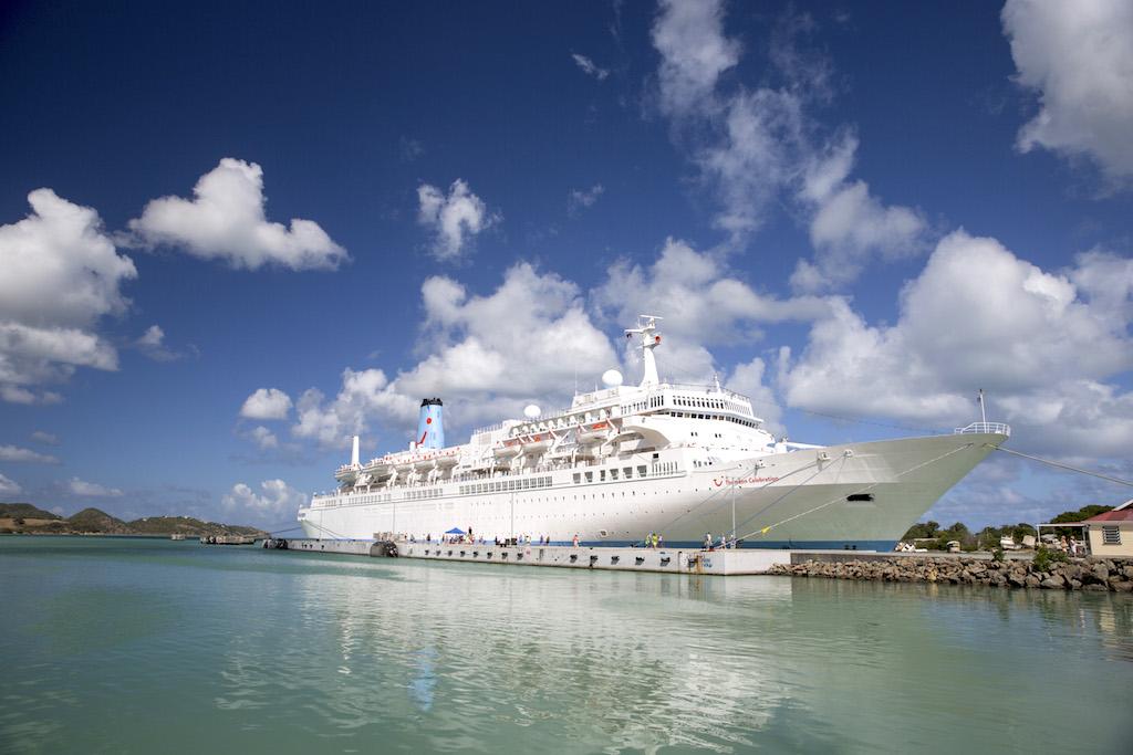 St. John's, Antigua and Barbuda - TUI Cruise ship