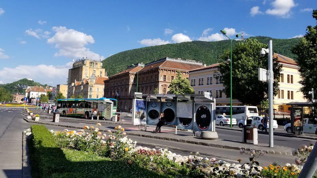 Brasov, Romania - Bus Terminal