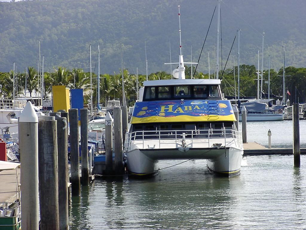 Cairns, Queensland Australia - Great Barrier Reef Boat
