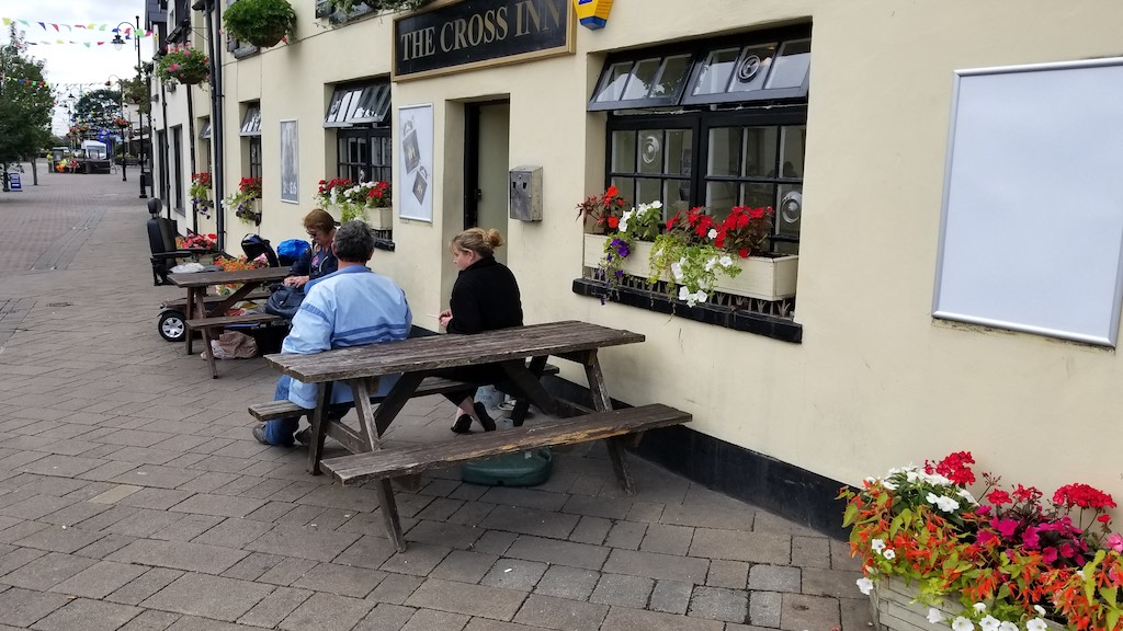 Caldicot Wales, United Kingdom- The Cross Inn