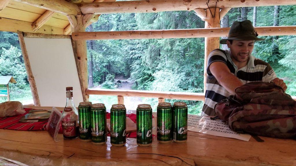 Canionul Șapte Scări (7 Ladders Canyon), Brasov - Lunch