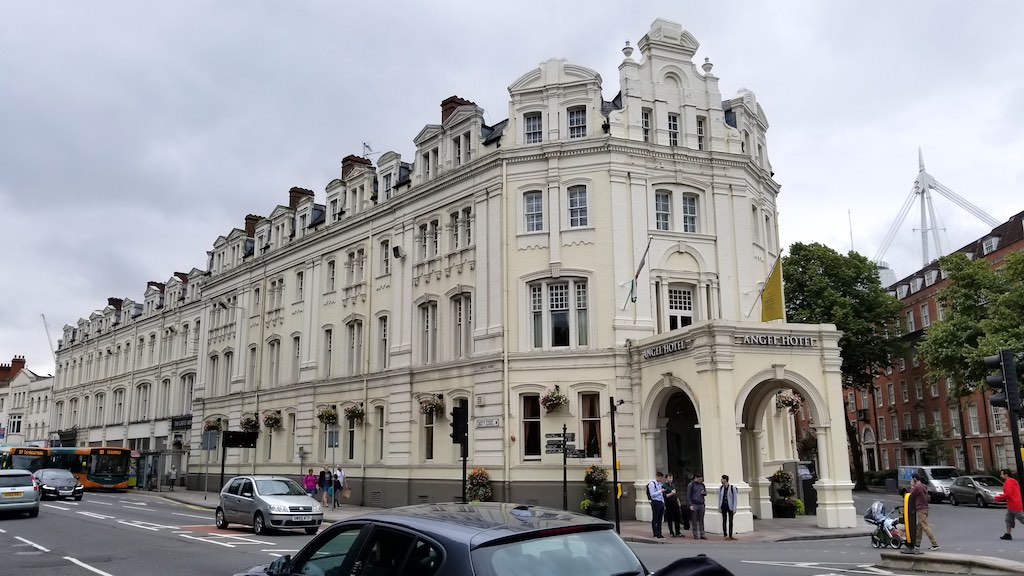Cardiff Wales, United Kingdom - Angel Hotel