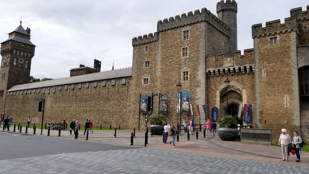Cardiff Wales, United Kingdom - Cardiff Castle