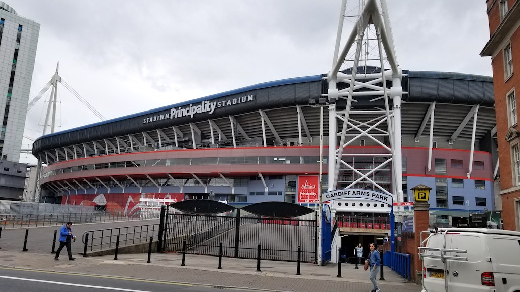 Cardiff Wales, United Kingdom - Stadium