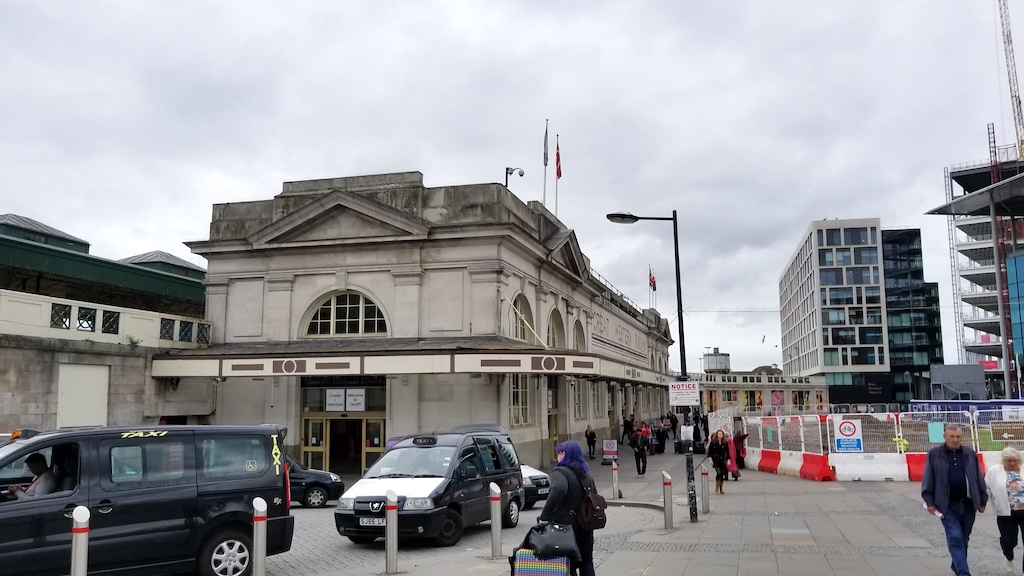 Cardiff Wales, United Kingdom - Great Western Train station