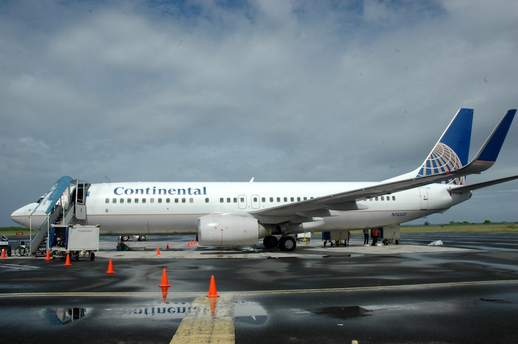 Chuuk, Federated States of Micronesia - Continental Boeing 737-800