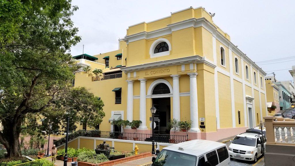 El Convento Old San Juan Puerto Rico