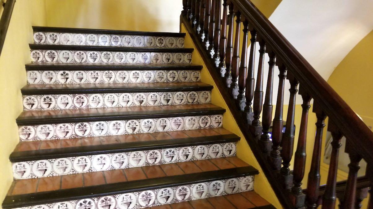Hotel El Convento, Old San Juan, Puerto Rico - Staircase