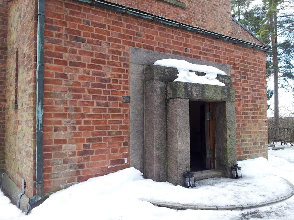Emanuel Vigeland Museum, Oslo, Norway - Entrance