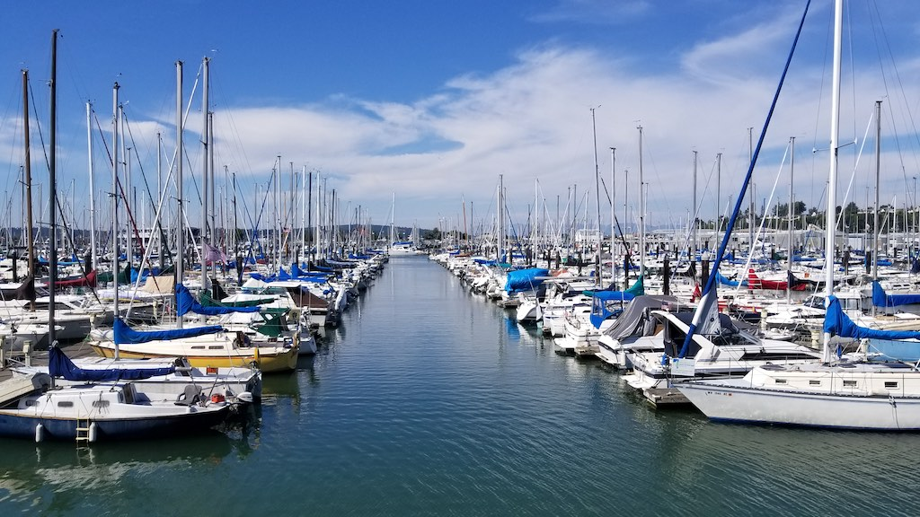 Everett, Washington USA - Everett Marina