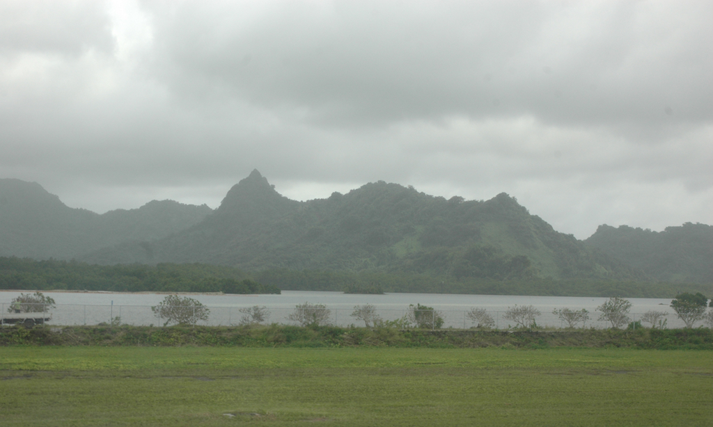 Kosrae, Federates States of Micronesia -Mount Finkol - The Sleeping Lady