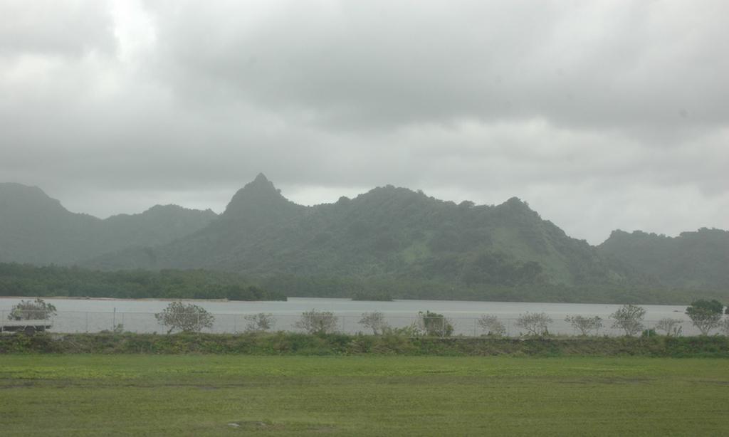 Kosrae, Federates States of Micronesia -Mount Finkol - The Sleeping Lady